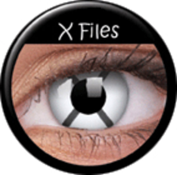 ColourVue Crazy čočky - X Files (2 ks roční) - nedioptrické