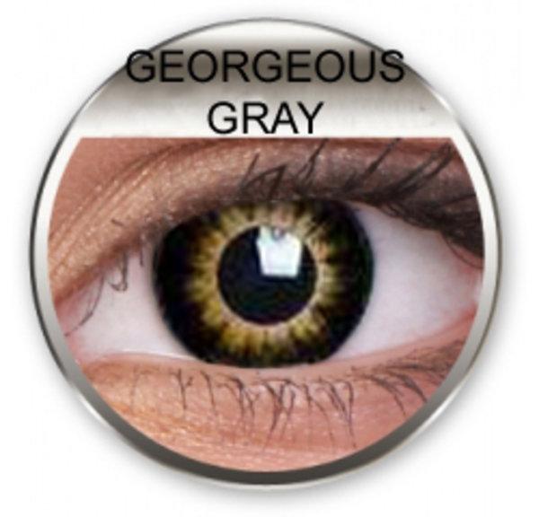 Georgeous Gray - Toric dioptrické (2 tříměsíční čočky)