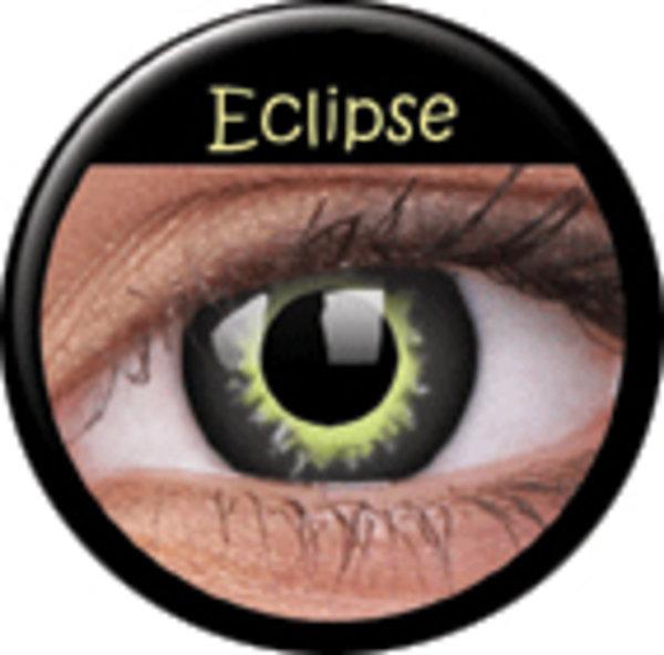 ColourVue CRAZY ČOČKY - Eclipse (2 ks tříměsíční) - dioptrické - doprodej