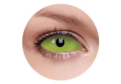 ColourVue Crazy čočky UV Sklerální - Spawn (2 ks půlroční) - nedioptrické