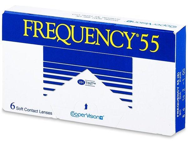 Frequency 55 (6 čoček) - Výprodej expirace 2016!