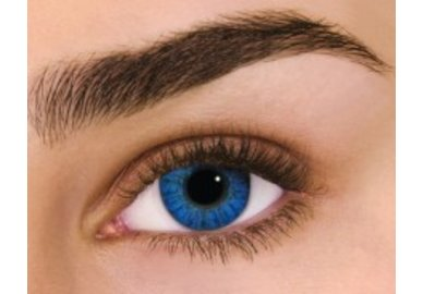 Air Optix Colors - Brilliant Blue (2 čočky měsíční) - dioptrické