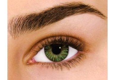 Air Optix Colors - Green (2 čočky měsíční) - dioptrické - Výprodej - Expirace 10/2021