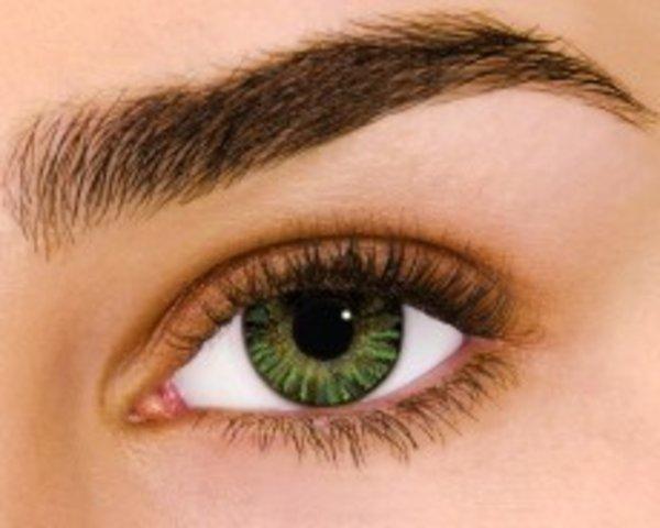 Air Optix Colors - Green (2 čočky měsíční) - nedioptrické