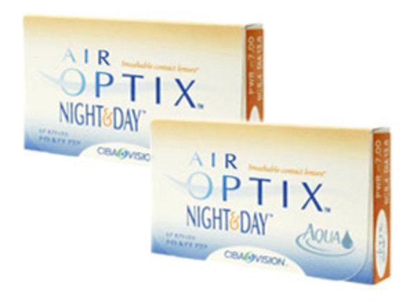 Air Optix Night & Day Aqua (6 čoček)