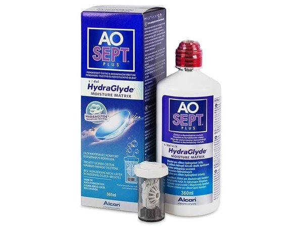 AOSEPT Plus HydraGlyde 360 ml s pouzdrem
