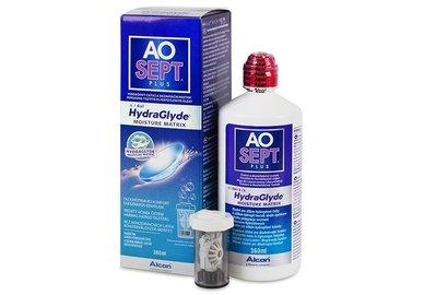 AOSEPT Plus HydraGlyde 360 ml s pouzdrem - exp.08/2021