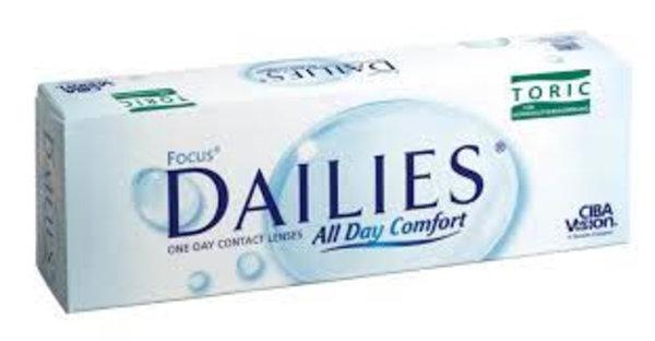 Dailies All Day Comfort Toric (30 čoček) - výprodej skladu