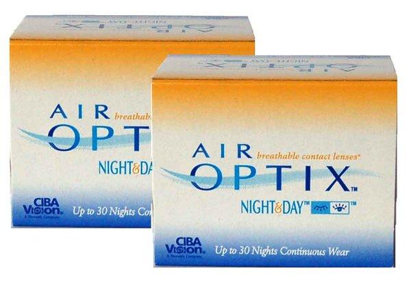 Air Optix Night & Day (6 čoček)  - Výprodej 2 Expirace!