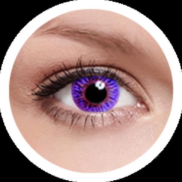Kontaktní čočky FreshKon (2ks, měsíční) - Romantic Violet dioptrické