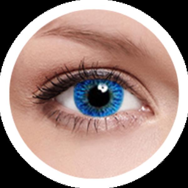 FreshKon Colors Fusion - Sky Blue (2 čočky měsíční) - dioptrické - exp.09/2016