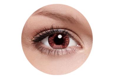 FreshKon Alluring Eyes - Winsome Brown (2 čočky měsíční) - nedioptrické