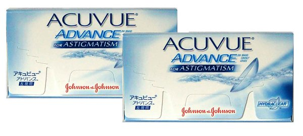 Acuvue Advance for Astigmatism (6 čoček) - exp.10/2015