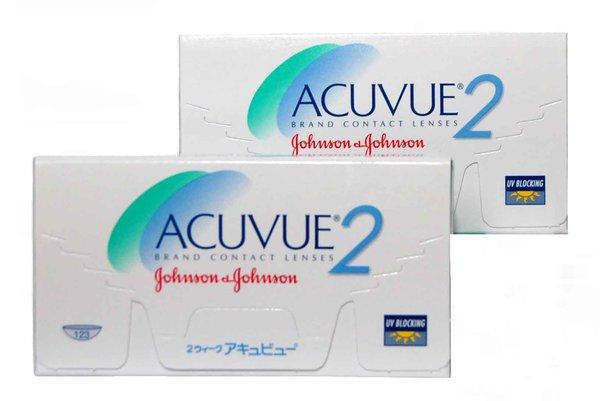 Acuvue 2 (6 čoček) -  Výprodej Expirace 2016