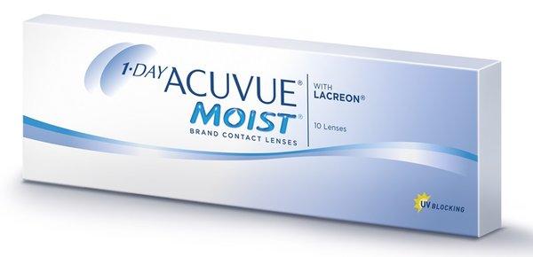 1-Day Acuvue Moist (10 čoček) - DOPRODEJ