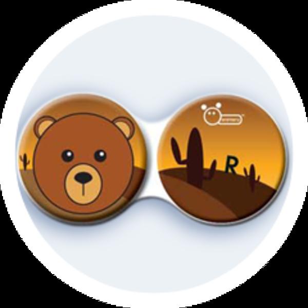 Anti-bakteriální pouzdro klasické - Divočina - Medvěd