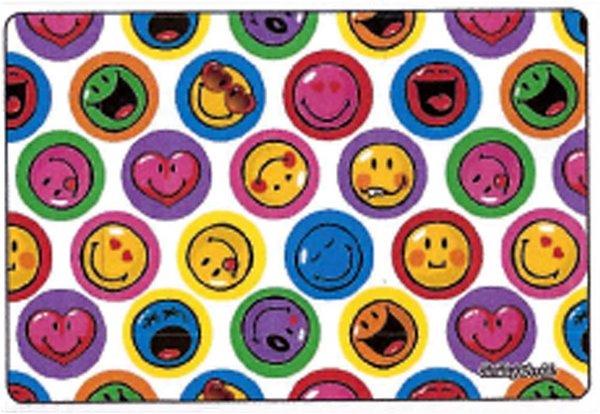 Hadřík na brýle z mikrovlákna Smiley - Smiley bílé