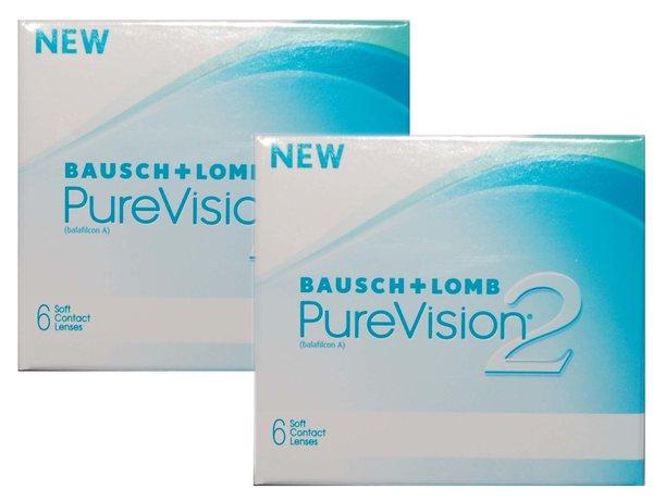 PureVision 2 HD (6čoček) - Výprodej Expirace 09/2014!!