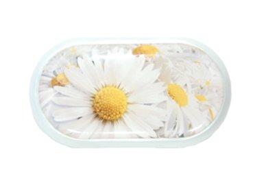 Pouzdro se zrcátkem motiv květy - Kopretina