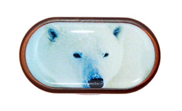 Pouzdro se zrcátkem Divoká zvířata - Lední Medvěd