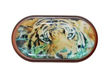 Pouzdro se zrcátkem Divoká zvířata - Tygr