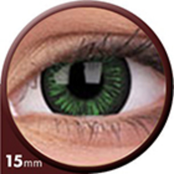 Phantasee Big Eyes - Lustrous Green (2 čočky tříměsíční) - dioptrické - doprodej