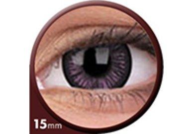 Phantasee Big Eyes - Passionate Purple (2 čočky tříměsíční) - dioptrické - doprodej