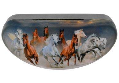 Pouzdro na brýle velké - koně