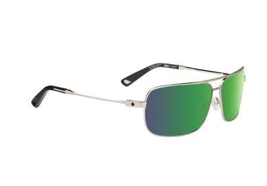 SPY sluneční brýle Leo GP Silver - Happy bronze / green spectra