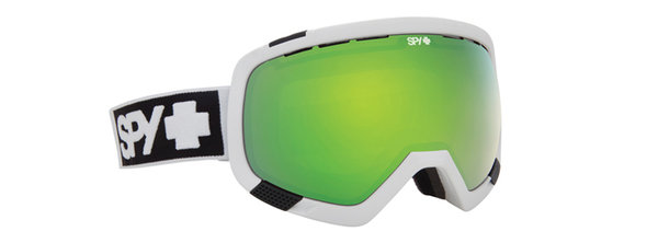 SPY Lyžařské brýle PLATOON - Matte White / Green