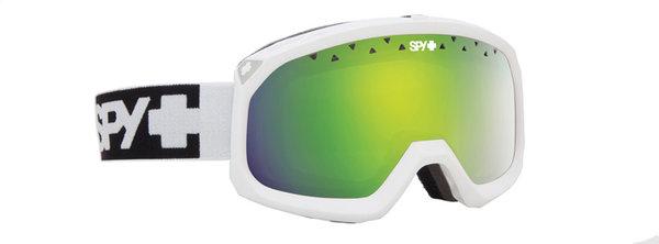 SPY Lyžařské brýle TREVOR - Matte White / Green