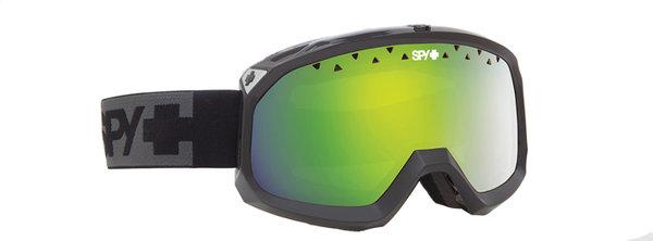 SPY Lyžařské brýle TREVOR - Black / Green Spectra