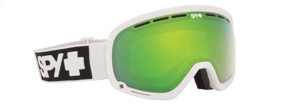 SPY Lyžařské brýle MARSHALL - Matte White / Green