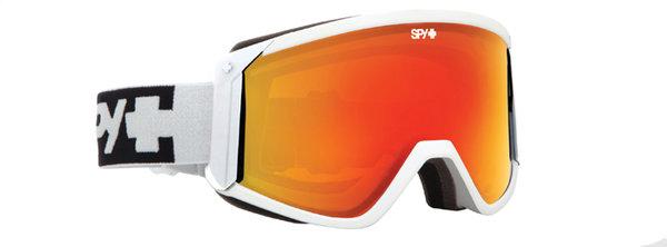SPY Lyžařské brýle RAIDER - White / Red
